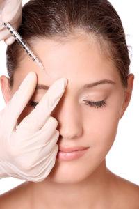 Коррекция морщин препаратом ботулотоксина