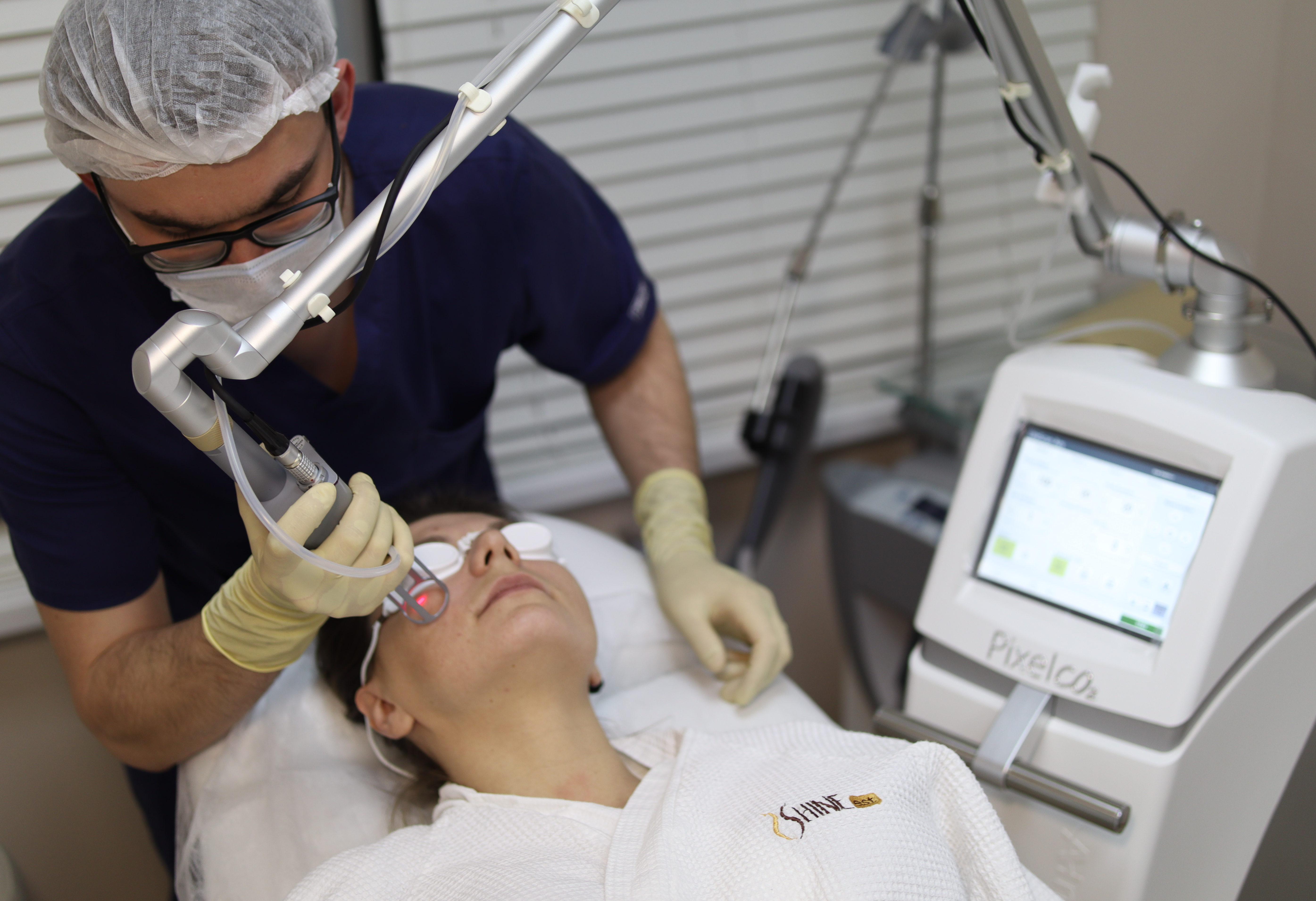 Лечение постакне Лицо полностью+Плазмотерапия PRP